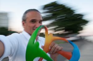 Acclaimed Brazilian graphic designer Fred Gelli founded design agency Tátil, and recently designed the branding for the Rio 2016 Olympics and Paralympic Games