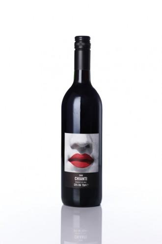 Wine bottle label design. Courtesy of Harry Pearce / Pentagram.