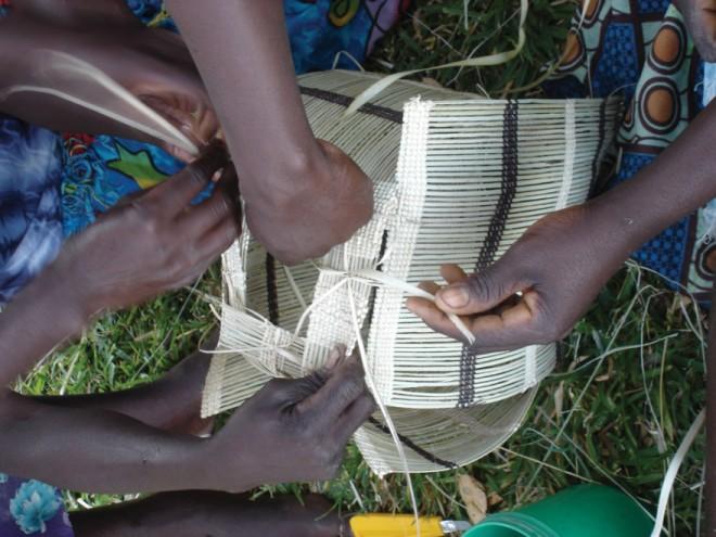 Craft workshop in Zimbabwe. Courtesy of Heath Nash.