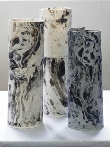 MBOISA 1: Marbled Vase by Lisa Firer.