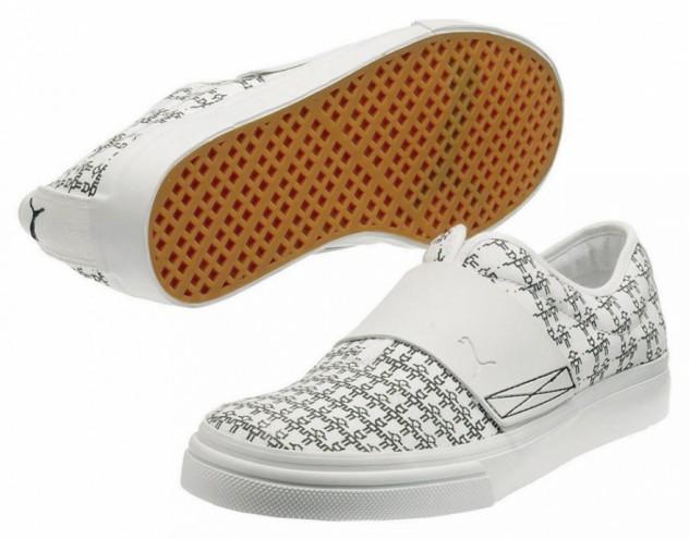 Puma limited-edition shoes. Courtesy of Karlssonwilker Inc.