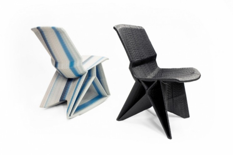 Endless Chairs by Dirk vander Kooij.