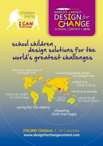 Work category winner: Design for Change.
