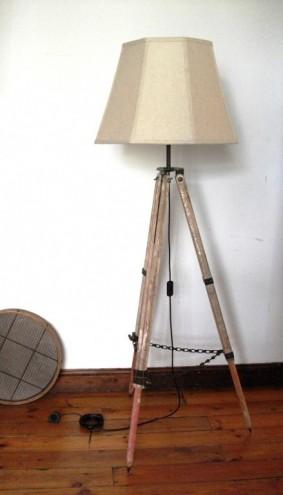 Tripod Lamp.