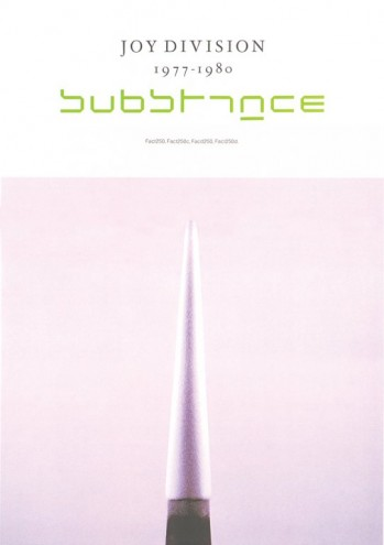 Joy Division – Substance (1988). Promo poster by Factory Records. Art Direction Peter Saville, Photography Trevor Key, Typography Brett Wickens.