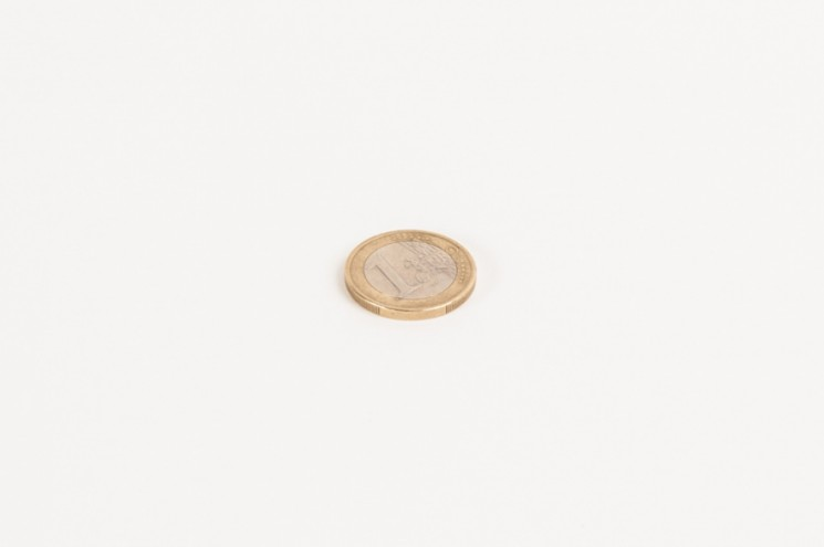 One Euro Coin. Photo: Dominic French.