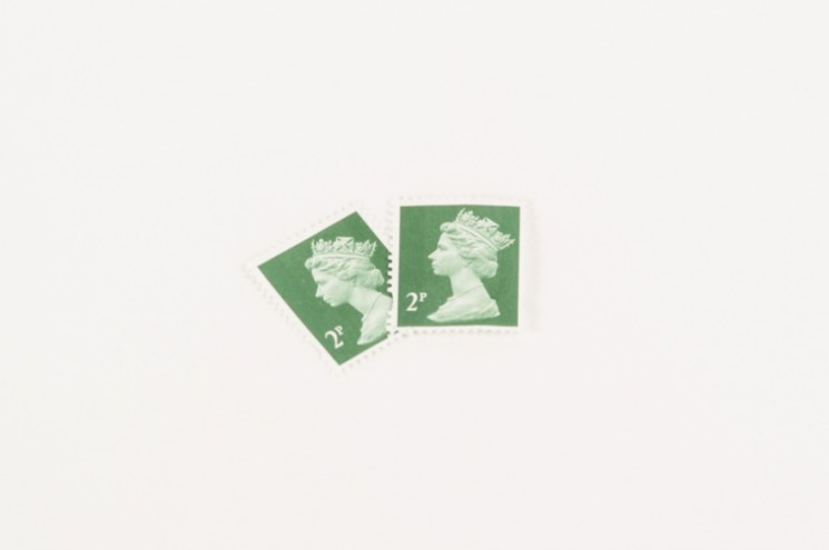 2p Stamp. Photo: Dominic French.
