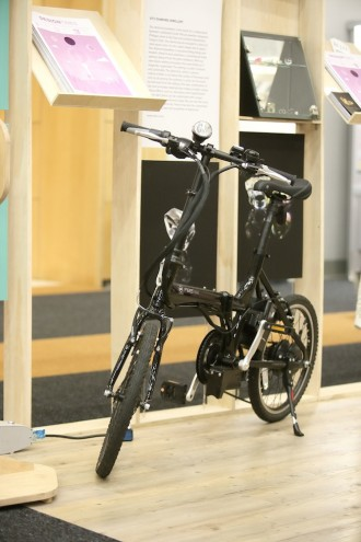 The A2B Kuo electric bike by Cycolocy on the Designtimes stand.