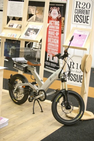 The A2B Octave electric bike by Cycolocy on the Designtimes stand.