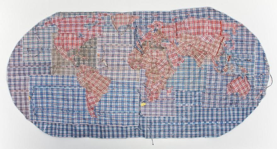 Rifugiato Mappa del Mondo 2011 by Dan Halter. Image: whatiftheworld.