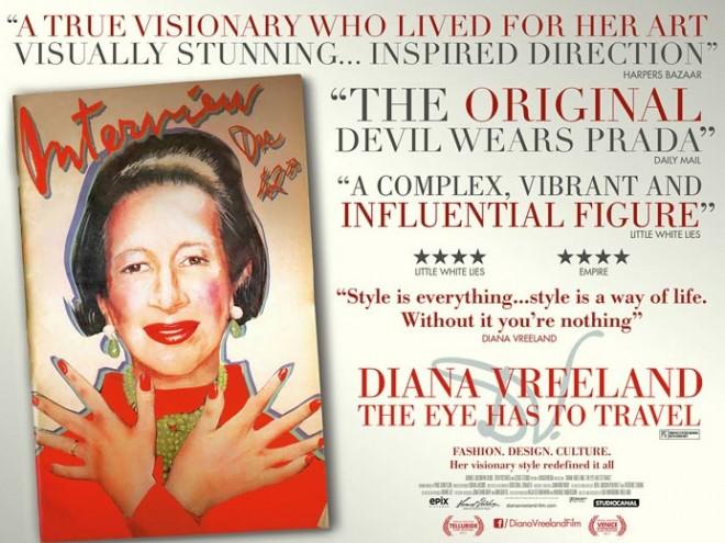 Diana Vreeland: The Eye Has to Travel.