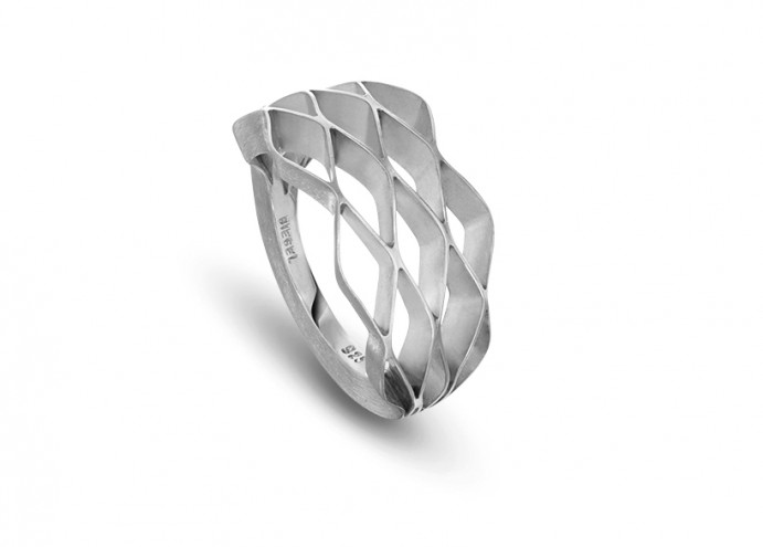 Cell jewellery collection by Benjamin Hubert