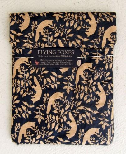 Lauren Fowler for Brown Paper iPad/Tablet Sleeve by WREN design.