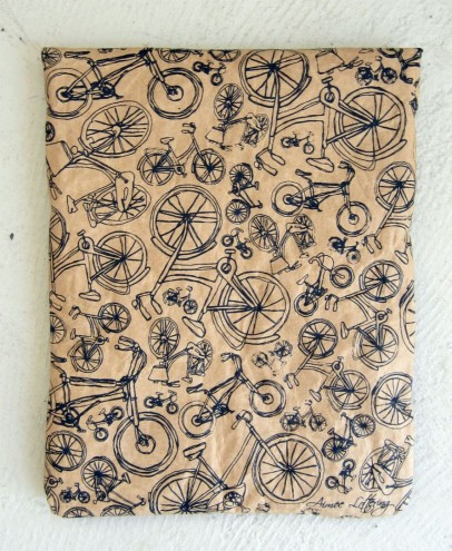 Aimee Lottering for Brown Paper iPad/Tablet Sleeve by WREN design.