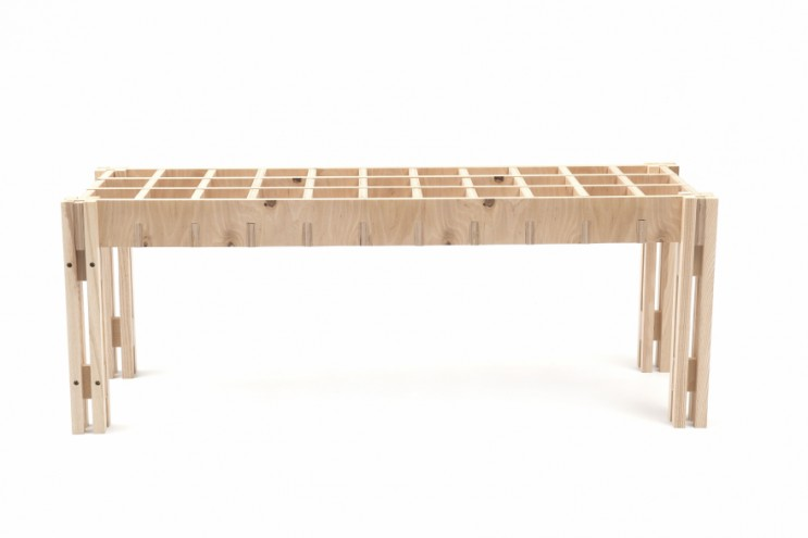 Bench by Jan Douglas for Mr Price Home CoLab.