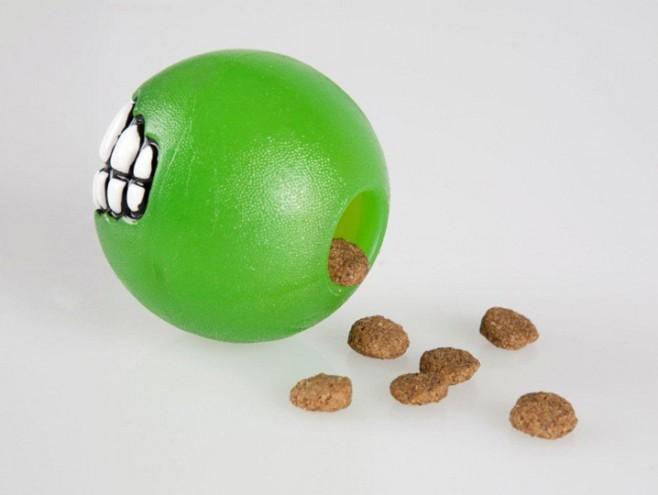 green Rogz Grinz ball by Porky Hefer