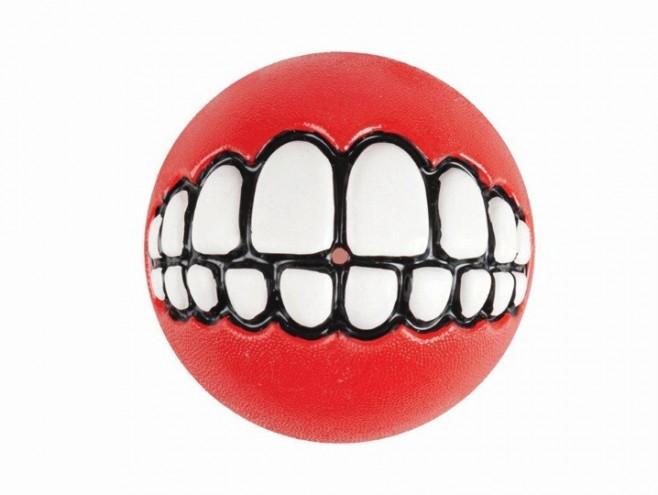 red Rogz Grinz ball by Porky Hefer