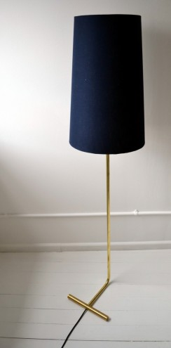 T Floor lamp by Woltemade. Image: Woltemade.