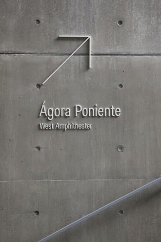Abbott Miller has designed environmental graphics for Tadao Ando's new arts center at the Universidad de Monterrey, Mexico.