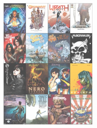 Most of the SA comic books in production