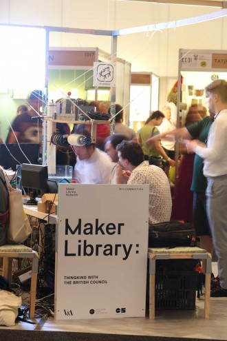 The Maker Library launch at Design Indaba Expo.