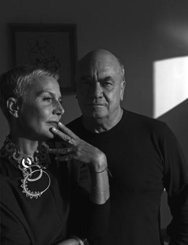 Massimiliano and Doriana Fuksas. Image: ©Maurizio Marcato.