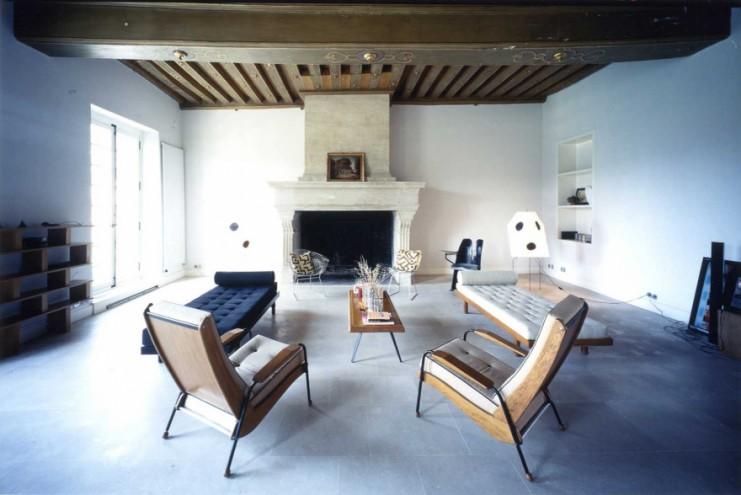 Massimiliano and Doriana Fuksas' home. Image: ©Aki Furudate.