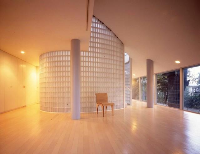 Shigeru Ban's home. Image: ©Hiroyuki Hirai.