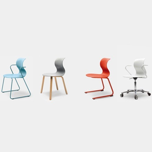 PRO CHAIR FAMILY by Konstantin Grcic.