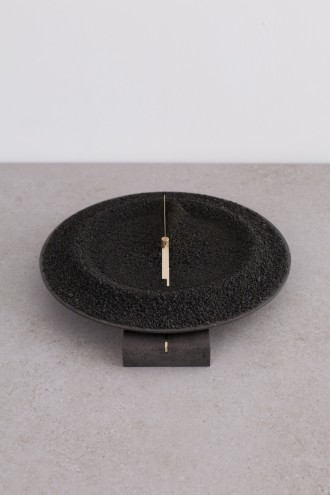 De Natura Fossilium collection: Clock by Studio Formafantasma in collaboration with Gallery Libby Sellers. Image: Luisa Zanzani.