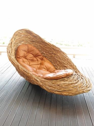 Fallen Bird's Nest by Porky Hefer. Image: Southern Guild.