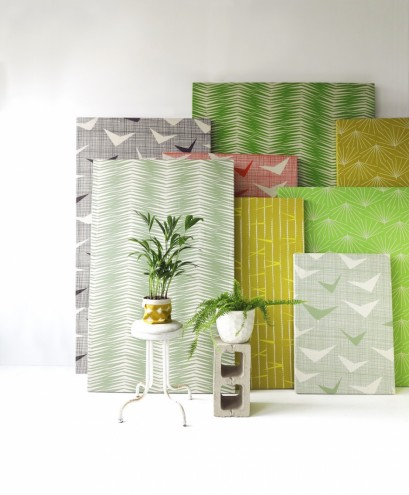 Paradise is Here, a new fabric collection by Heather Moore of Skinny laMinx.