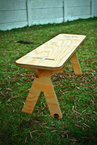 Bench by Unfayzd Design.