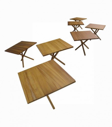 Folding table by Studio Propolis.