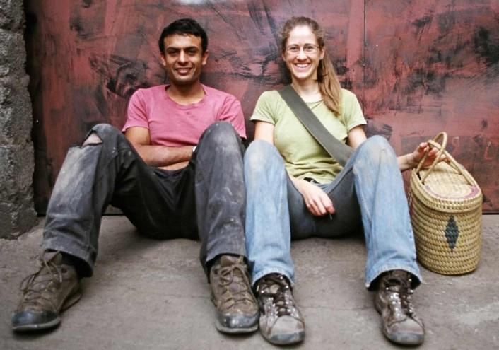 Naeem Biviji and Bethan Rayner
