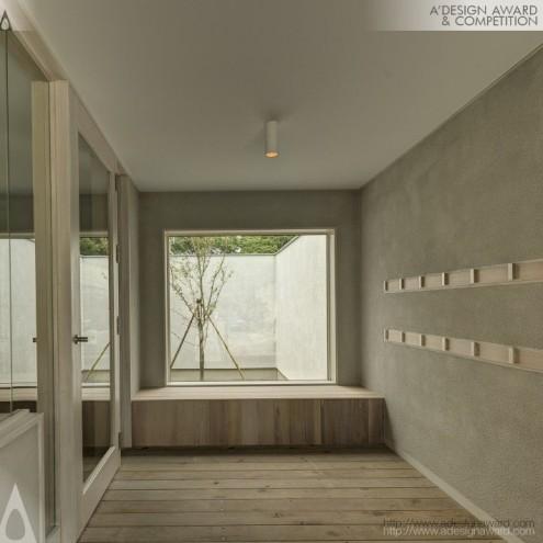 Oranda-jima House by Martin van der Linden.