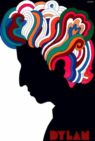 Milton Glaser's 1966 Bob Dylan poster.