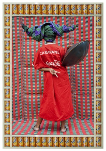 """Caravane, 2011:1432"", by Hassan Hajjaj, courtesy of Rose Issa Projects, London. Head styling by the artist Venus the Bushfire."
