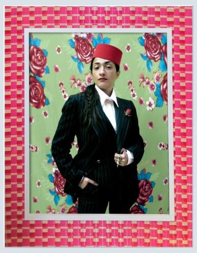 """Musician Hindi Zahra, 2011:1432"", by Hassan Hajjaj, courtesy of Rose Issa Projects, London."