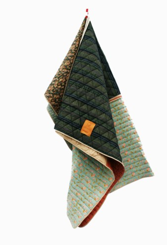 Silk Quilted Plaids by Borre Akkersdijk and Piet Hein Eek.