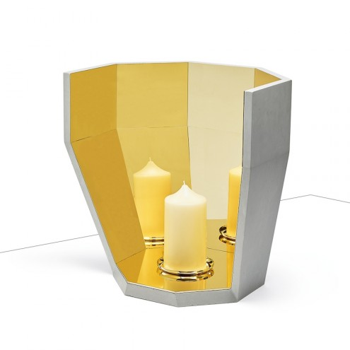 Multifacet collection: Candle Holder by Matali Crasset for LCDA.