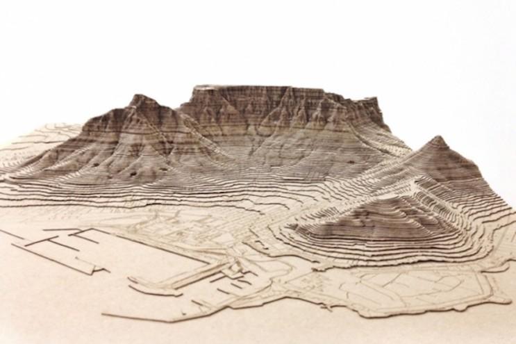 Laserkut renderings by Nikki Onderstall Design Heard Design Indaba Emerging Creative 2015