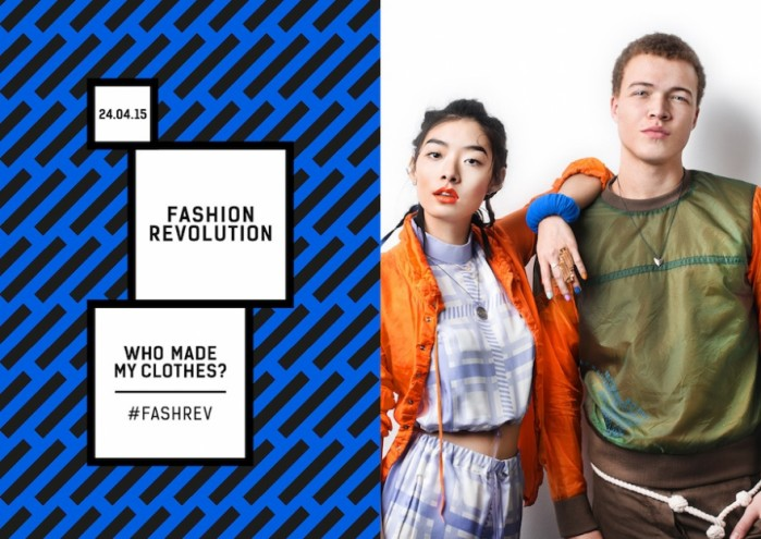 Fashion Revolution Day encourages consumer to be more aware of the fashion supply chains they buy into.