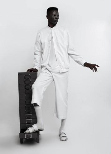 Macramé collection by Lukhanyo Mdingi.