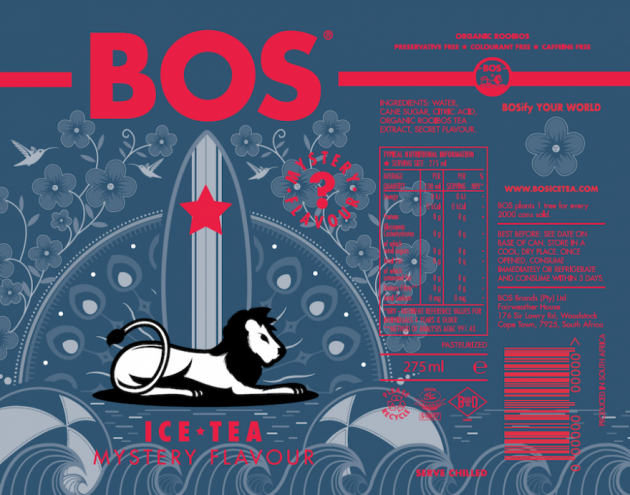 BOS Ice Tea is bringing an exhibition of shortlisted designs from its Design-A-Can competition to 6 Spin Street, Cape Town as part of First Thursdays.