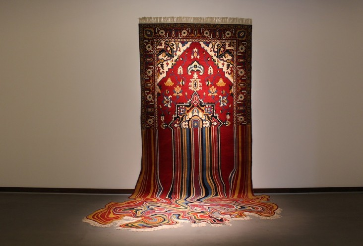 Traditional Oriental Rugs Meet Bold