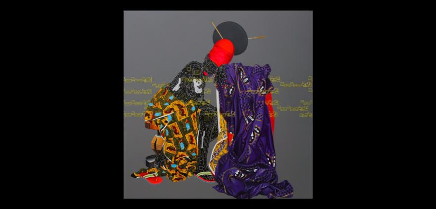 """""""Abandonnés"""" by Eddy Kamuanga Ilunga."""