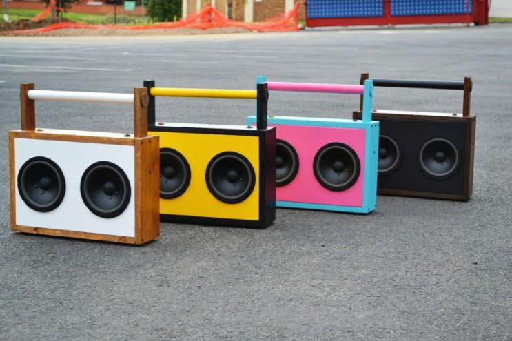 Sedumo's boombox designs