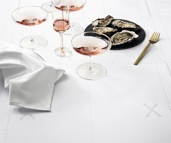 A textile collection for Georg Jensen Damask by Margrethe Odgaard. Image Credits: margretheodgaard.com