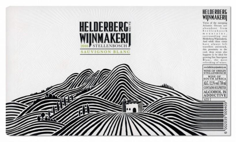 Helderberg Wijnmakerij packaging by Fanakalo.
